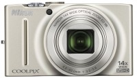 Nikon Coolpix S8200 Point & Shoot Camera(Silver)