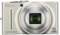 Nikon Coolpix S8200 Point & Shoot Camera(Silver)
