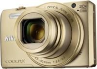 NIKON Coolpix S7000 Point & Shoot Camera(Gold)