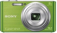 Sony DSC-W730 Point & Shoot Camera(Green)