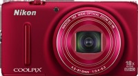 Nikon S9400 Advanced Point & Shoot Camera(Red)