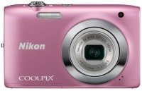 Nikon S2600 Point & Shoot Camera(Pink)