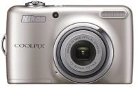 NIKON Coolpix L23 Point & Shoot Camera(Silver)