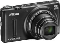 NIKON S9600 Point & Shoot Camera(Black)