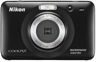 Nikon S30 Point & Shoot Camera(Black)