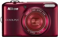 NIKON L28 Point & Shoot Camera(Red)