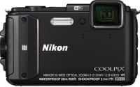 Nikon AW130 Point & Shoot Camera(Black)