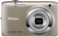 Nikon S2600 Point & Shoot Camera(Silver)