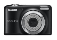 Nikon L25 Point & Shoot Camera(Black)