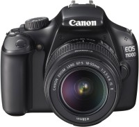 Canon EOS 1100D DSLR Camera (Body with EF-S 18-55 mm IS II Lens)(Black)