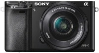 Sony ILCE-6000L/B IN5 Mirrorless Camera Body with Single Lens: 16-50mm Lens(Black)