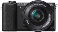 Sony Alpha ILCE-5100L/B 24.3MP Mirrorless Digital E-mount Interchangeable Lens Camera (Black) with SELP1650 Power Zoom Lens