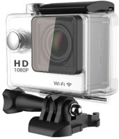Gadget Hero's GHXSC786W Body Only Sports & Action Camera(White)