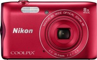 Nikon Coolpix A300 Point & Shoot Camera(Red)