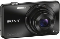 Sony CyberShot DSC-WX220/BC IN5(18.2 MP, 10 Optical Zoom, 102x Digital Zoom, Black)