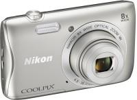 NIKON S3700 Coolpix Camera Mirrorless Camera(Silver)