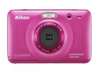 Nikon S30 Point & Shoot Camera(Pink)