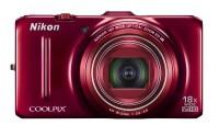 NIKON S9300 Point & Shoot Camera(Red)
