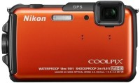 Nikon AW110 Waterproof Point & Shoot Camera(Orange)