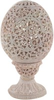 Freshings Stoneware 1 - Cup Tealight Holder(Multicolor, Pack of 1)