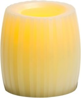 Expressme2u Flameless LED Candle(Beige, Pack of 1)