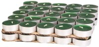 TGS Tealight Candle(Green, Pack of 50)