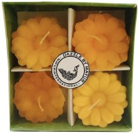 Dazzle Floater Candle Sunflower Set of 4 Candle(Multicolor, Pack of 4) - Price 135 66 % Off