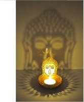 Dazzle Buddha Shadow Diya Candle(Multicolor, Pack of 1) - Price 99 60 % Off