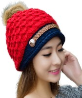iSweven Solid Beanie, Skull, Winter, Fashion, Knitted Woolen, Hat Cap