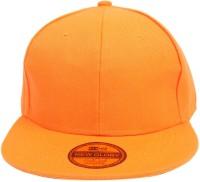 ILU Self Design Plain Orange Caps, Baseball, caps, Hip Hop Caps, men, women, girls, boys, Snapback, hiphop, Trucker, Gifting Cap, Cap Cap