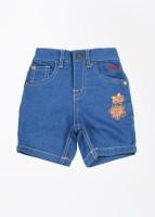 Gini & Jony Capri For Girls Solid(Blue)