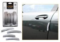 I Pop Plastic Car Door Guard(Grey, Pack of 4, Toyota, Corolla)