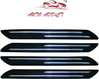 Auto Addict Plastic Car Bumper Guard(Black, Pack of 4, Maruti, WagonR)