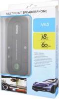 View Voltegic VBX-129 ™ Bluetooth HandsFree Kit Multipoint Speakerphone Dual Connecting Bluetooth(Multicolor) Laptop Accessories Price Online(Voltegic)