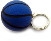 AVI Blue Volleyball Soft PU Key Chain(Blue)
