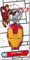 Marvel Official Iron Man Face Colored Pewter Key Chain(Multicolor)
