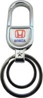 AVI Doublesided Honda Locking Key Chain(Silver)