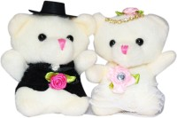 CTW Best Valentine Gifts For Red Moments For Valentine Teddy Couple For Him & Her Soft Toy Gift Set