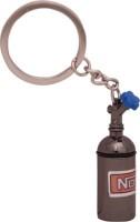 AVI Black silver Nitrous Oxide Cylinder Key Chain(Multicolor)