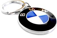 Tech Fashion BMW Car Logo Locking Key Chain(Blue, Black)