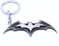 Optimus Traders Superhero Movie Batman the dark Knight Dawn of Justice wings Logo 3d 8cm Metal Key Chain(Silver)