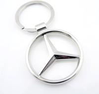 Delhitraderss Car Logo Key Chain(Silver)