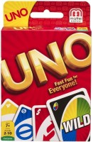 Mattel Games Uno Cards(Multicolor)