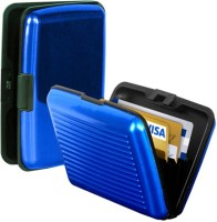 Fissone 6 Card Holder(Set of 1, Blue)