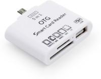 A Connect Z OTG CR-01-AcZ107 Card Reader(White)