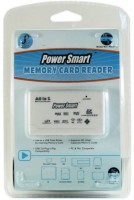 Power Smart Memory Card Reader(White)