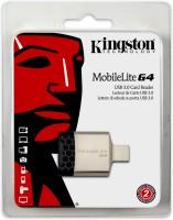 Kingston Mobilelite G4 Usb 3 (Fcr-Mlg4) Card Reader(Black)