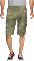 London Bee Light Green Color Mens Cargos