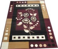 Farhan Carpet Brown Polypropylene Carpet(120 cm  X 155 cm)