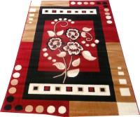 Farhan Carpet Red Polypropylene Carpet(110 cm  X 155 cm)